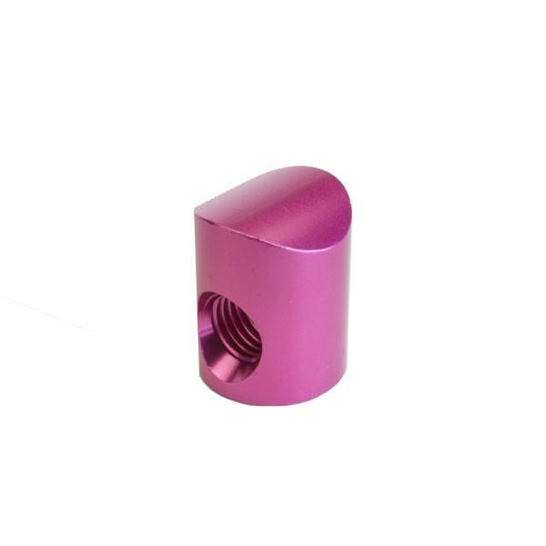 Shrewd V-Bar Colored Barrel Nut Straight Pink