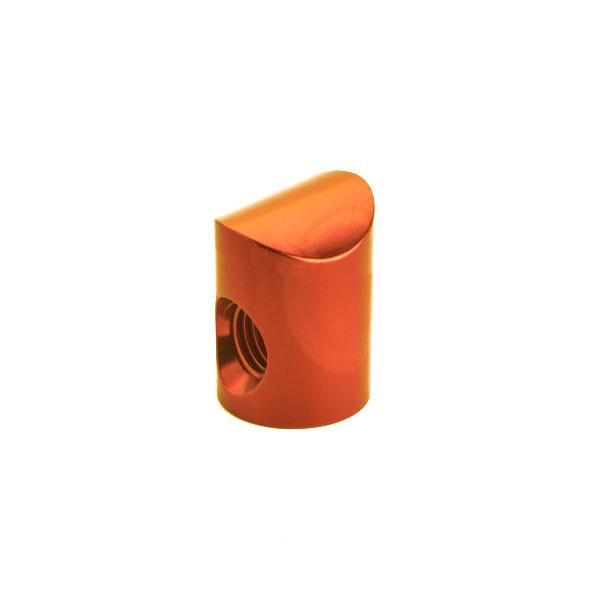 Shrewd V Bar Colored Barrel Nut 8 Degree - Orange
