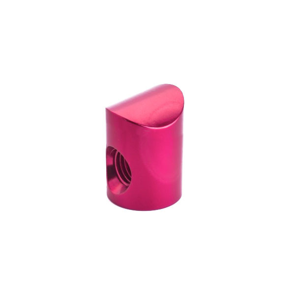 Shrewd V-Bar - Colored Barrel Nut - 8 Degree Pink
