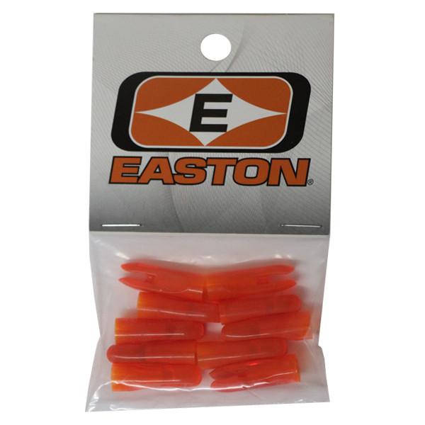 Easton PlastiNock 11/32 Doz Bag Flo Orange