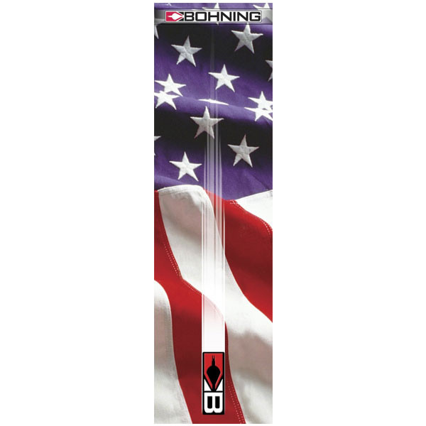 Bohning Stars & Stripes HD Arrow Wrap 12pk Standard - 501001US