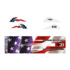 Bohning True Color Blazer Vane / Wrap Combo, American Flag - 101040AF