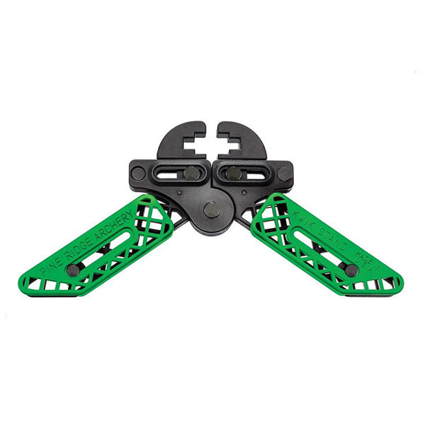 Pine Ridge Kwik Stand Bow Support - Lime Green
