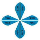 Bohning Blazer Vanes 2in. Satin Blue 12 Pack