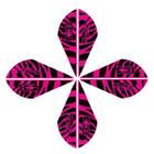 Bohning Blazer Tiger Vanes Pink 50 Pack