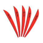 Bohning 3in Impulse Vane Ruby 50 Pack