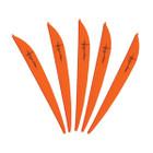 Bohning 4in Impulse Vane Neon Orange 12 Pack