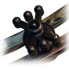 BowJax MonsterJax LimbDampener - Split Limb Black 2 pk.