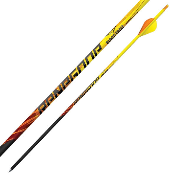 "Black Eagle Renegade Fletched Arrows - .005"" 6 Pack - 250"
