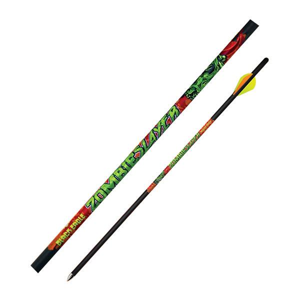 "Black Eagle Zombie Slayer Crossbow Fletched Arrows - .003"" Half Dozen - 18"""