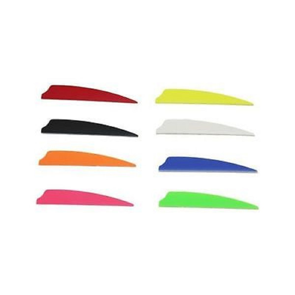 "Norway 2"" Fusion Vanes - 50 Pack (Pink)"