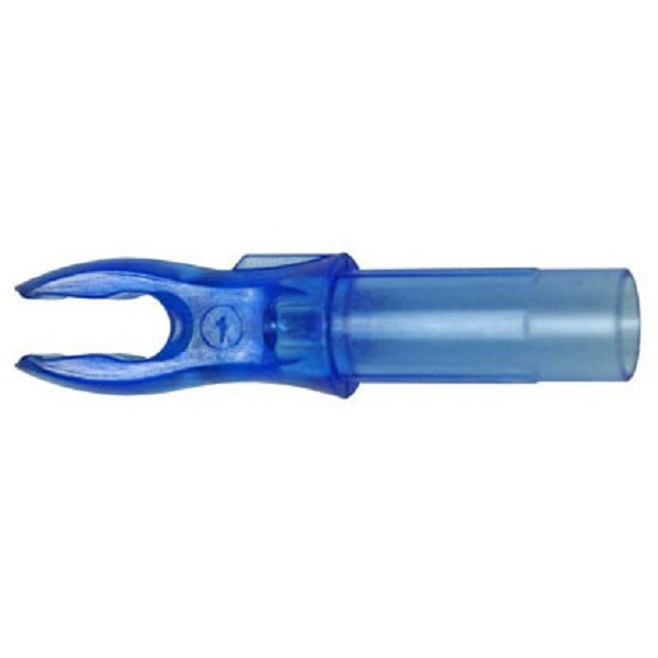 Bohning A Nocks - 12 Pack (Electric Blue)