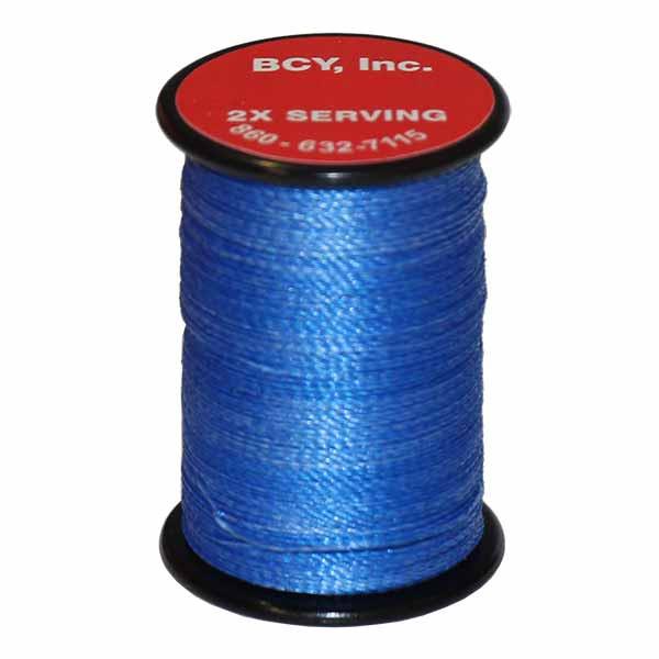 "BCY 2X End Serving .015"" (150 yds) Royal Blue"