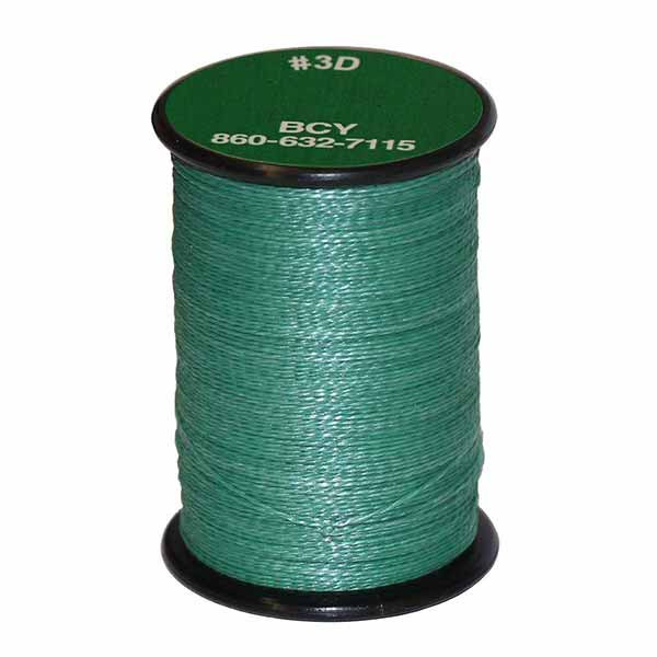 BCY 3D End Serving .017 120 Yard Jig Spool Green