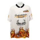 Bowhunters Supply BHSS Logo Obsession Flame Jersey - White - Medium