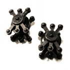 Bowjax Smaller RizrJax II Black (2 Pack)