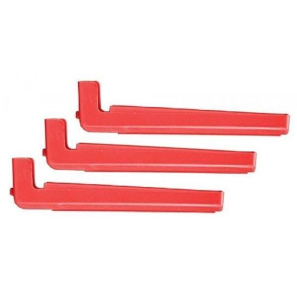 Bohning Red 1 Degree Offset Tower Arms 3pk