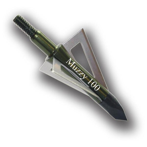 Muzzy 75 Grain 3-Blade  1in Cut (6pack)