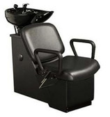 Kaemark W-70 Tilt-Bowl Unit with Leg Rest