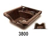 Belvedere 3800 Alpha Shampoo Bowl