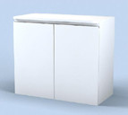 9218 Spa Cabinet in White