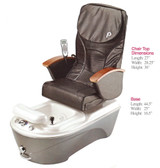 Pibbs PS95 Anzio Turbo Spa with Shiatsu Massage