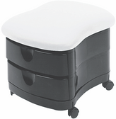 Pibbs 2030 Zorro Two-Shelf Ottoman