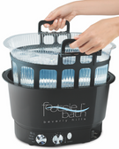 Pibbs FM3848 Footsie Bath w/Basket and 10 Liners