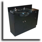 Collins 428-42 QSE Concept Lo-Boy Shampoo Unit