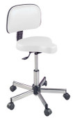 Pibbs 642 Bike Seat Stool with Backrest