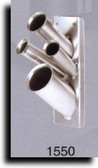 Pibbs 1550 Silver Mini Accessory Holder Wall Mount