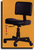 Kayline 803V All Purpose Contoured Chair w/Backrest
