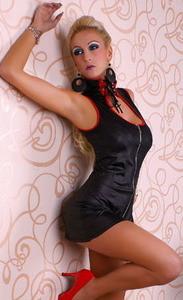SEXY GOGO MINI DRESS LC9083