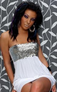 QT girl mini dress