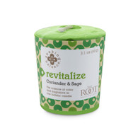 Seeking Balance® 20 Hour Votive Coriander & Sage  Revitalize