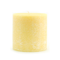 Timberline Pillar 3 X 3 Unscented Yellow