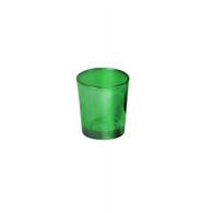 Votive Glass D.Green