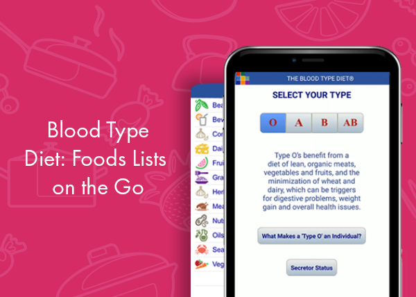 The Blood Type Diet on the go