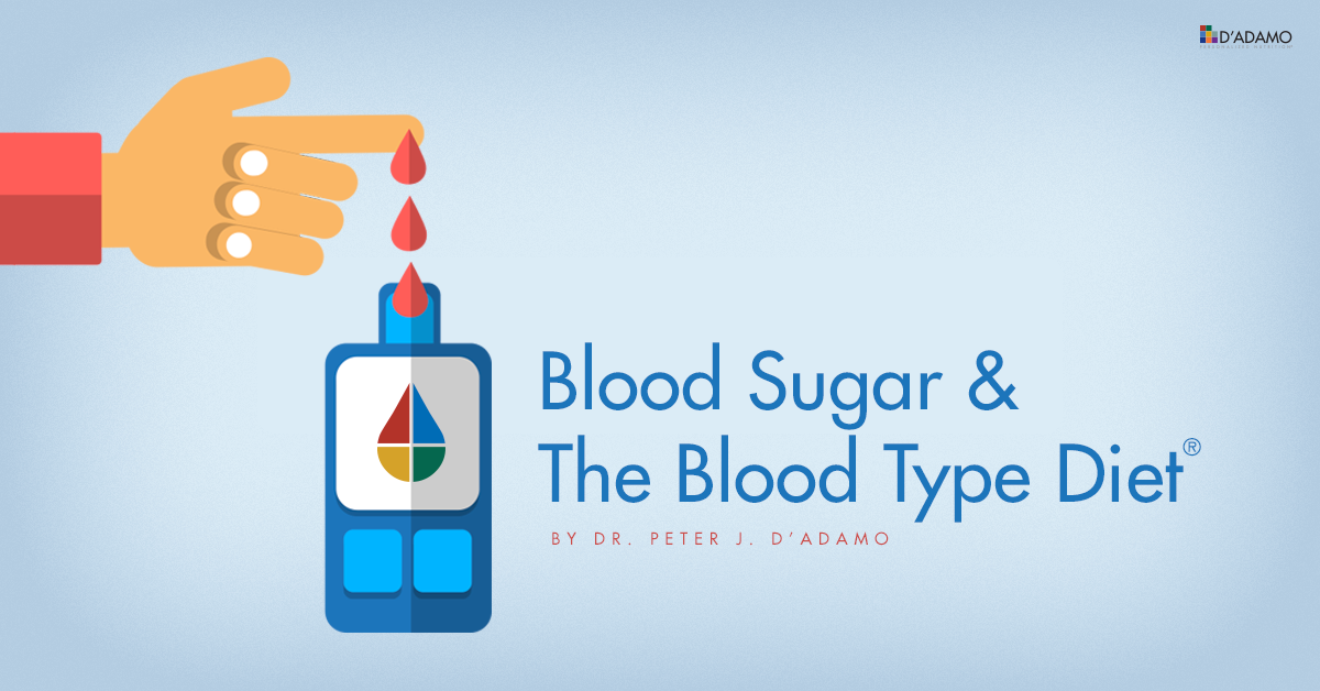 Blood Sugar and the Blood Type Diet