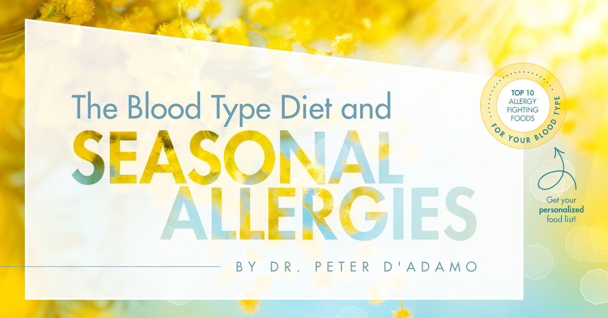 Blood Type Diet and Seasonal Allergies