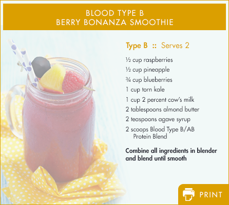 Type B - Energy-Boosting Protein Drink