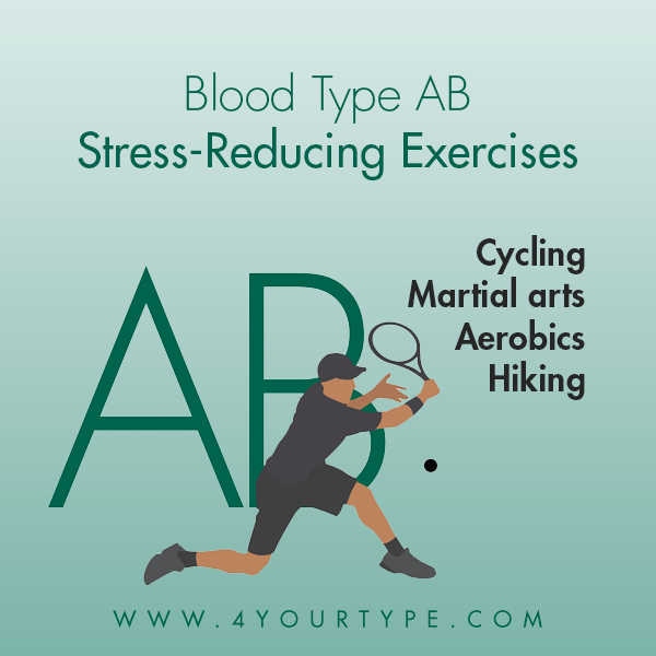 Stress-Reducing Exercises for Blood Type AB