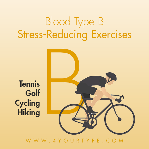 Stress-Reducing Exercises for Blood Type B