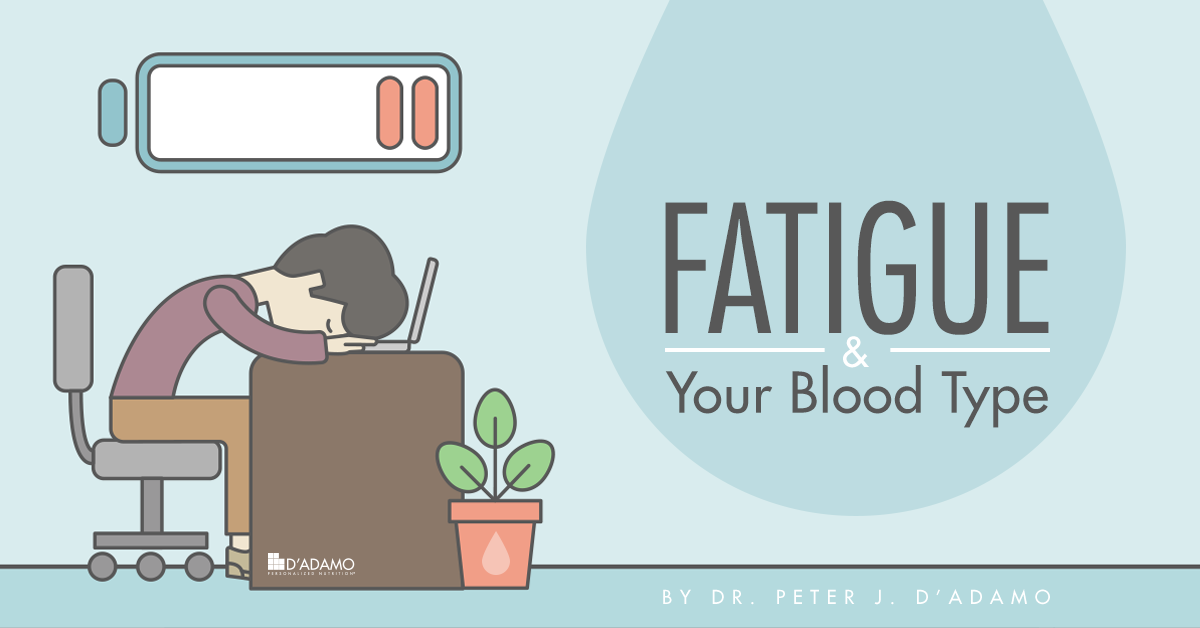 Fatigue and Your Blood Type