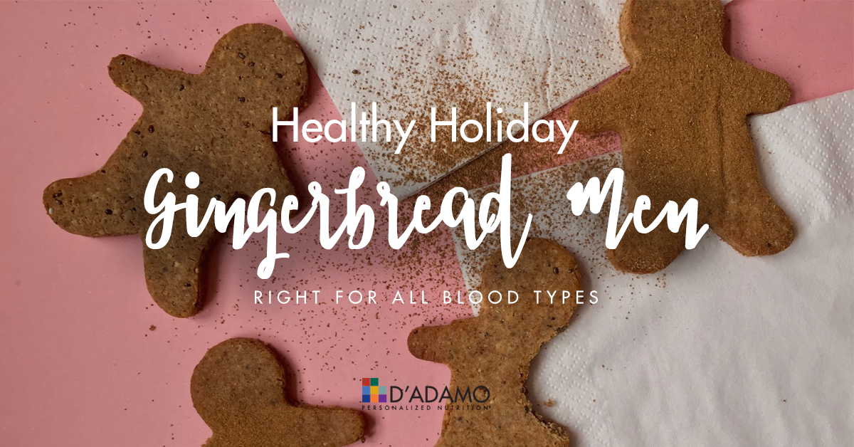 Healthy Holiday Gingerbread Men Cookies