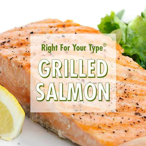 Grilled Salmon - Blood Type Diet