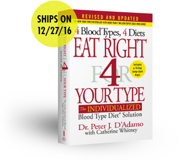 Eat Right 4 Your Type - 20th Anniversary Edition