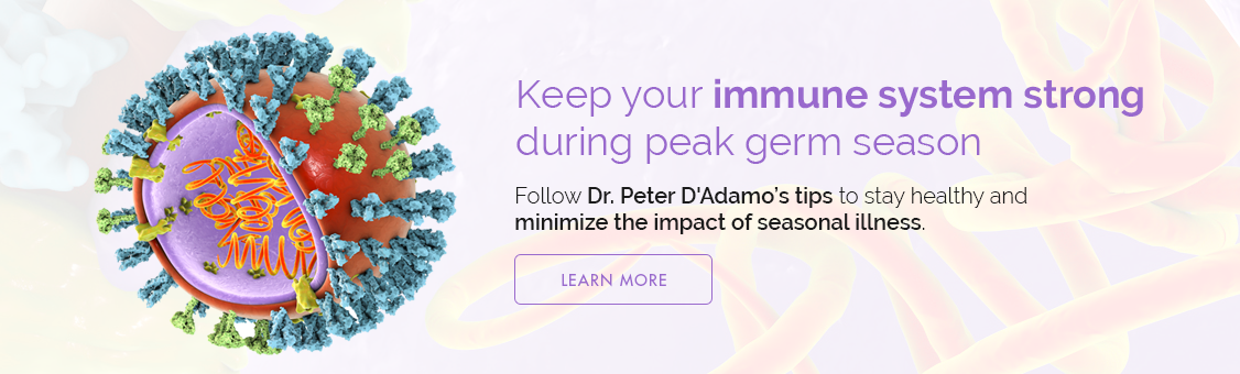 Keep Your Immune System Strong During Peak Germ Season