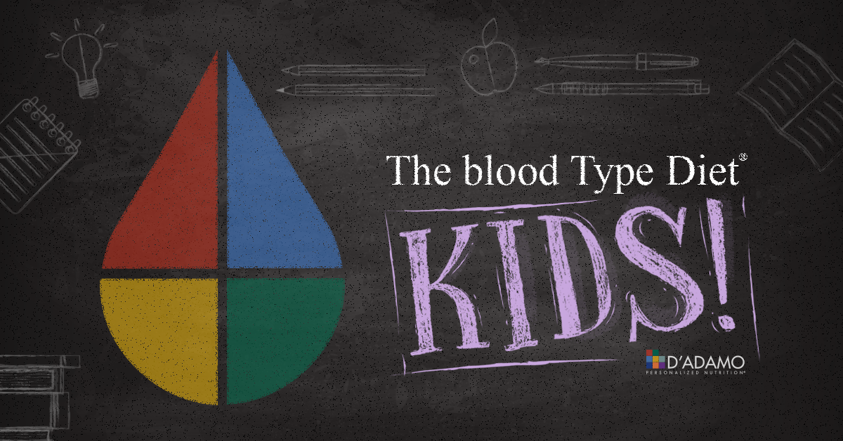 Blood Type Diet KIDS!
