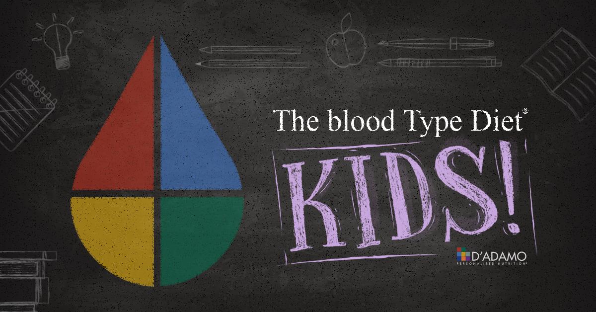 Blood Type Diet KIDS!